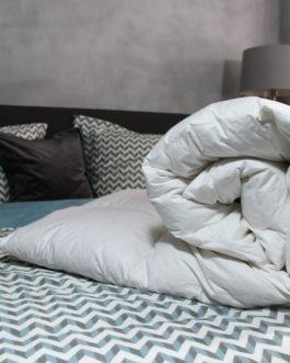 Loiva Silver Donzen dekbed – Winterdekbed 200 x 200 cm – Tweepersoons bestellen via beddenwinkel-online.nl