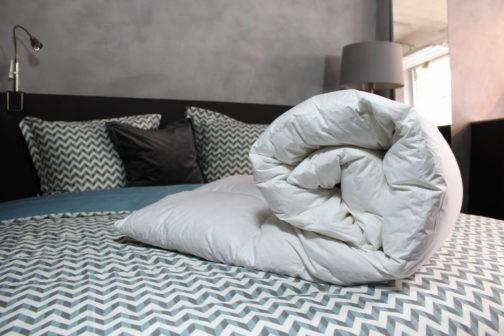 Loiva Premium – Ganzendons Winterdekbed 140 x 200 cm – Eenpersoons bestellen via beddenwinkel-online.nl