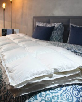 Exclusief Siberisch Ganzendons Dekbed | Nuvaro Excellent 4-Seizoenen 140 x 200 cm – Eenpersoons bestellen via beddenwinkel-online.nl