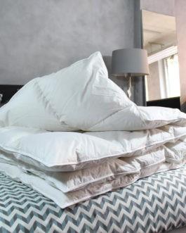 Nuvaro – Luxe Ganzendons Winterdekbed 140 x 200 cm – Eenpersoons bestellen via beddenwinkel-online.nl