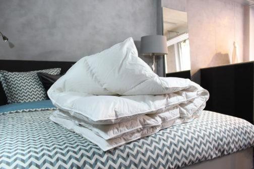 Nuvaro – Luxe Ganzendons Winterdekbed 200 x 200 cm – Tweepersoons bestellen via beddenwinkel-online.nl